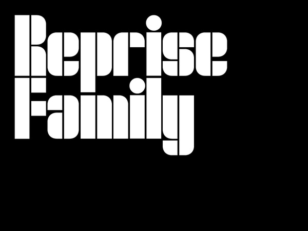 Reprise – full font family (OTF & TTF) 1-2 users