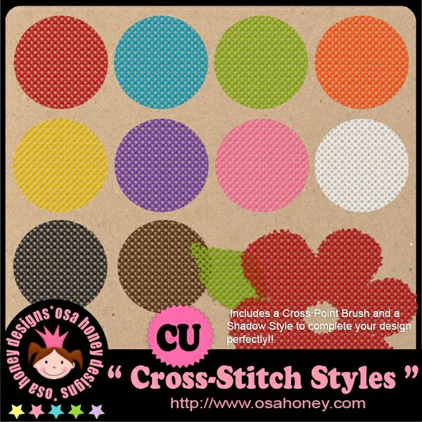 Oh_Cross_Stitch Styles