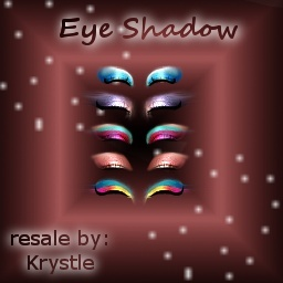 Make-Up #1 -- Eye Shadows