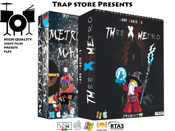 Trap Store Presents - METRO DARK MAGIC COLLECTION