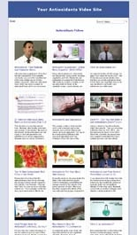 Antioxidants Video Site Builders