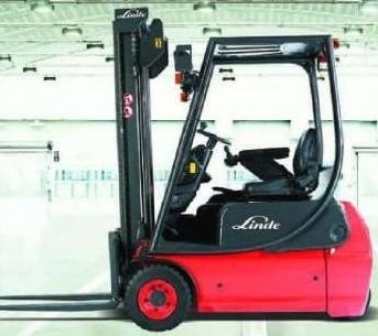 Linde Forklift Trucks 335-03 series E16C-03, E16P-03, E20P-03 Original Instuctions (User Manual)