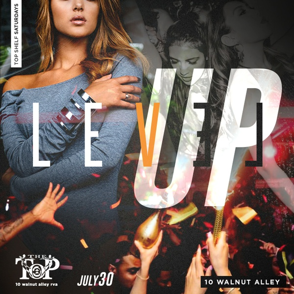 Level Up - Club Flyer