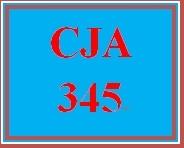 CJA 345 Week 4 Research Article Analysis