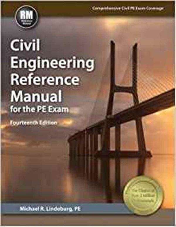 Civil Engineering Reference Manual for the PE Exam 14th edition ( PDF , Instant download )