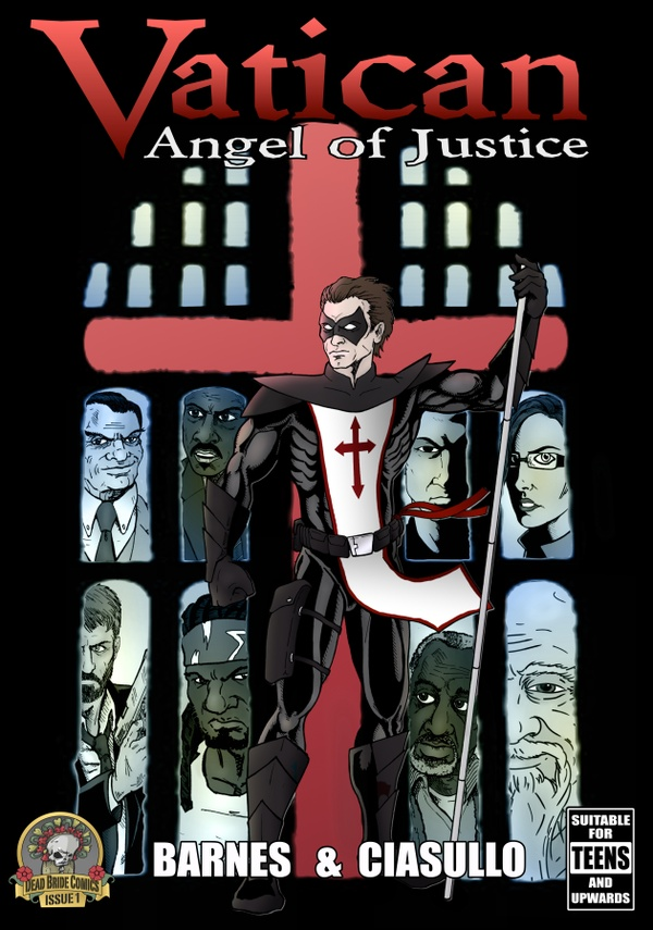 VATICAN: ANGEL OF JUSTICE ISSUE 1