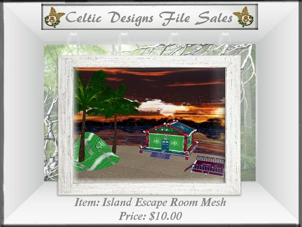 CD Island Escape Room Mesh