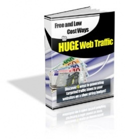 FREE eBook With Master Resell Rights Free And Low Cost Ways To Huge Web Traffic