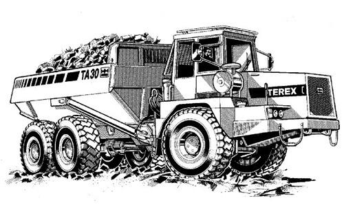 Terex TA30 Articulated Dumptruck Service Repair Manual