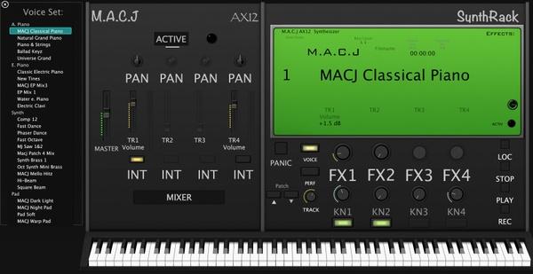 MACJ AX12 SynthRack