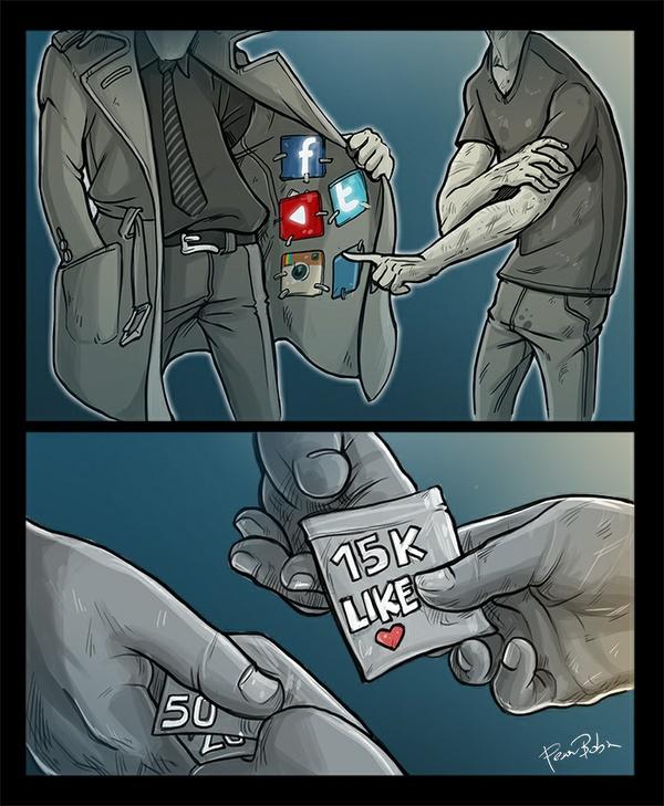 La Droga Moderna dei Social (Boban Pesov)