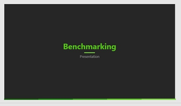 Dark GREEN PPT
