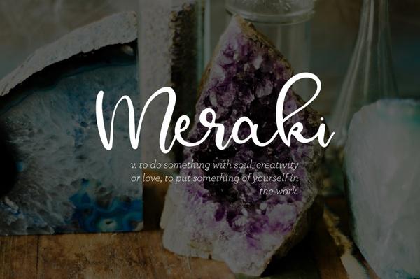Meraki - A Flowing Script