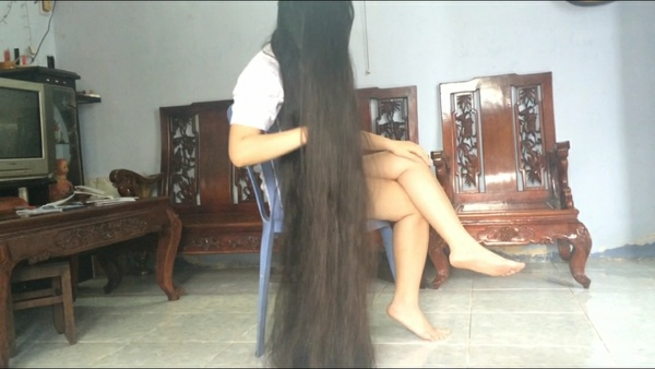 My long hair - My treasur