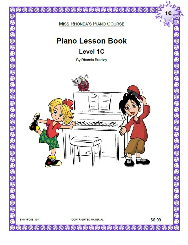 Miss Rhonda's Piano Lesson Book 1C