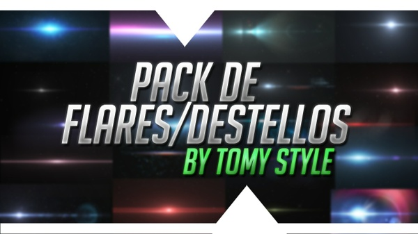 Pack de 20 Flares/Destellos - PSD Photoshop
