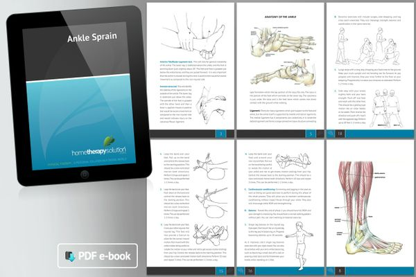 Ankle Sprain Therapy Book