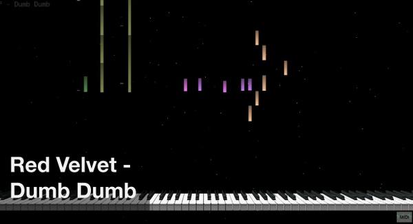 【미디 MIDI】 레드벨벳 Red Velvet - Dumb Dumb | MIDI makernect