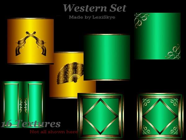 Western (Gold & Green)