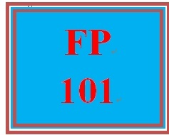 FP 101 Week 6 Quiz