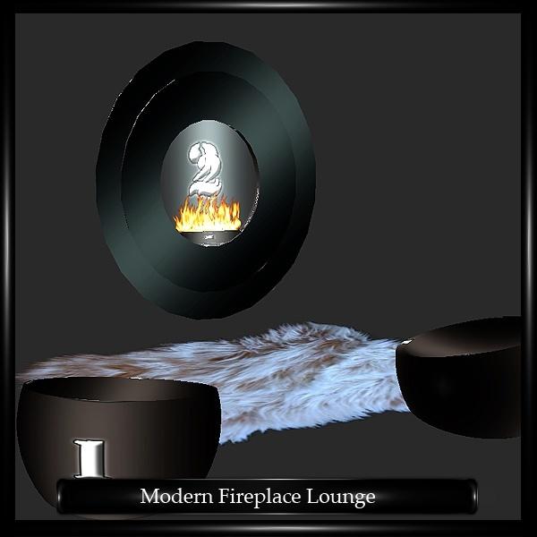 MODERN FIREPLACE LOUNGE
