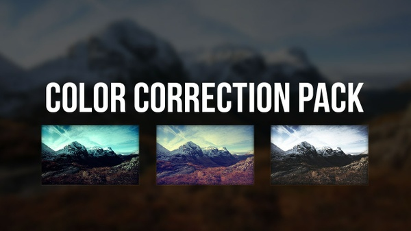 Photoshop Color Correction Packs #1 & 2