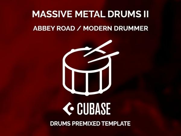 Massive metal drums II // NI Abbey Road / Modern Drummer
