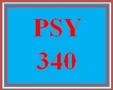 PSY 340 Week 3 Neurological Structure and Function Tutorial