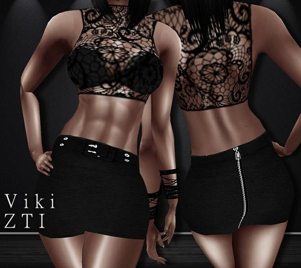 Viki 43 Top + Skirt
