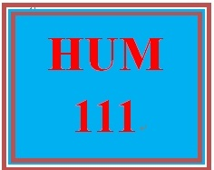 HUM 111 Week 1 Knowledge Check