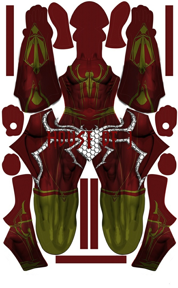 """Iron-Spider"" Pattern File"