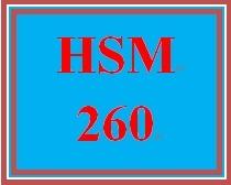 HSM 260 Week 5 Forecasting