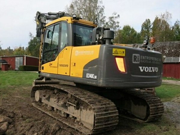 VOLVO EC140C LM EC140CLM EXCAVATOR SERVICE REPAIR MANUAL - DOWNLOAD