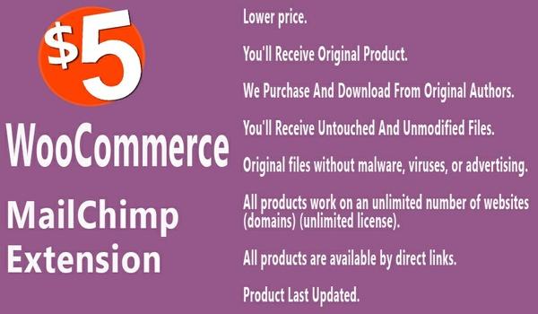 WooCommerce MailChimp Integration Extension