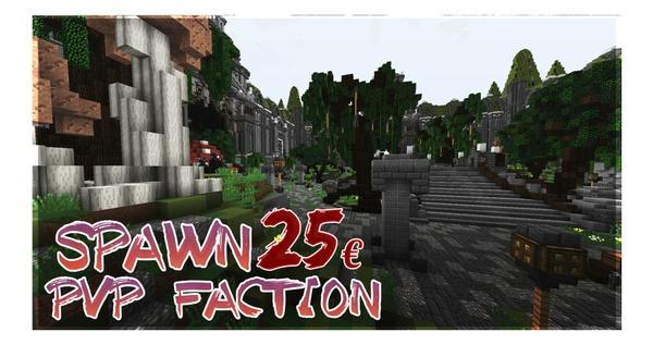 Minecraft Spawn | PvP-Faction [1.8-1.12]