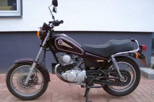 1997 YAMAHA SR125 MOTORCYCLE SERVICE REPAIR MANUAL