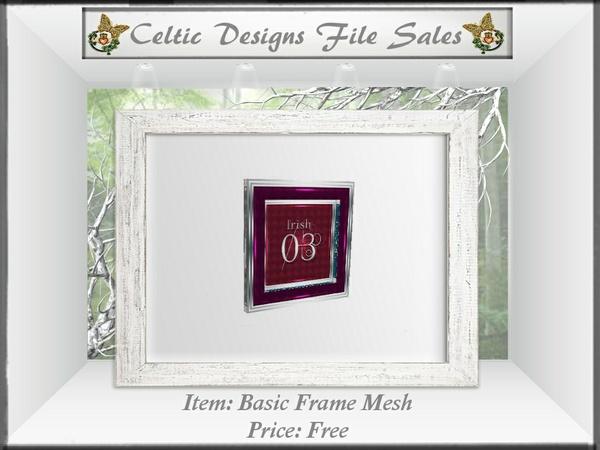 CD Basic Frame Mesh