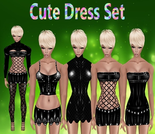 Cute Dress Set