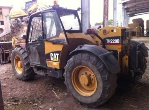 Caterpillar Cat TH220B TH330B Telehandler Operation and Maintenance Manual DOWNLOAD
