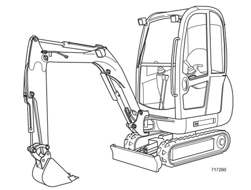JCB 8027Z 8032Z Mini Excavator Service Repair Manual Download