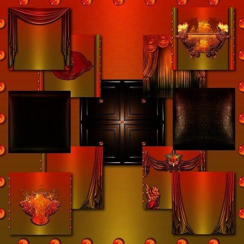 IMVU Fiery Texture Set