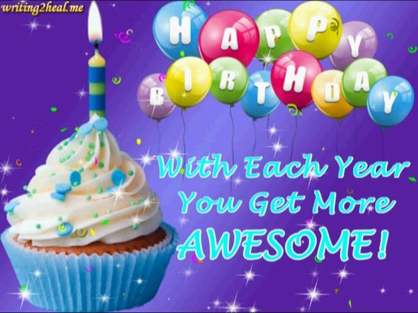 Cupcake Hbday Wishes