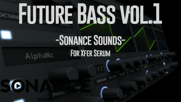 Sonance Sounds - Future Bass Presets For Serum
