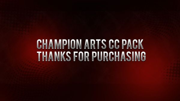 ChampionArts CC PACK (25) 8 (BGs)