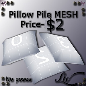Pillow Pile MESH
