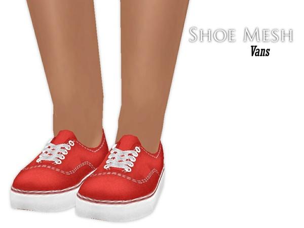 IMVU Mesh - Shoes - Vans (regular)