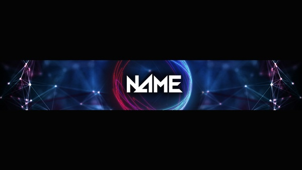 Futuristic YouTube Banner Template