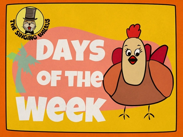 Days of the Week Song Video (mp4)