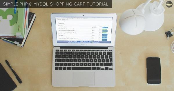 LEVEL 1 - PHP Shopping Cart Tutorial - Using MySQL Database To Store Cart Data