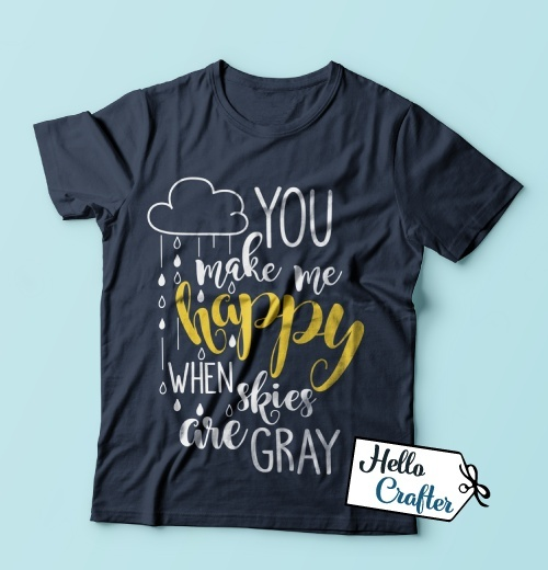 You Make My Happy When Skies Are Gray Commercial License